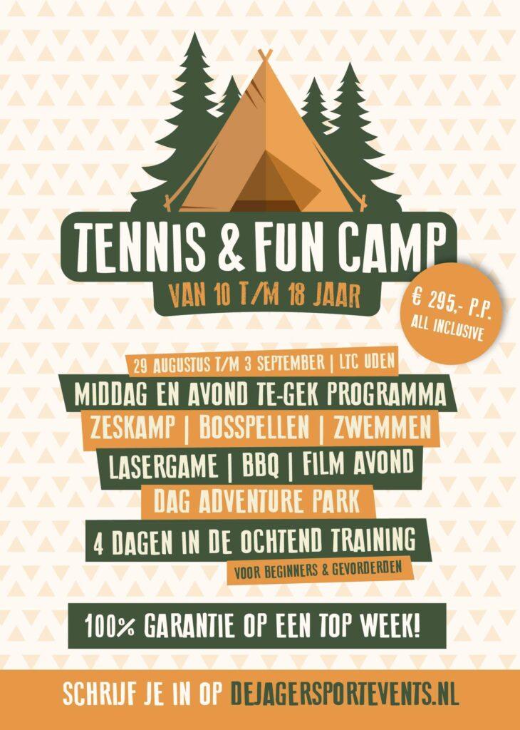 Tennis en fun Camp 2021